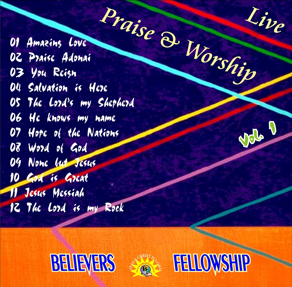 LIVE PRAISE WORSHIP VOL. 1 resized