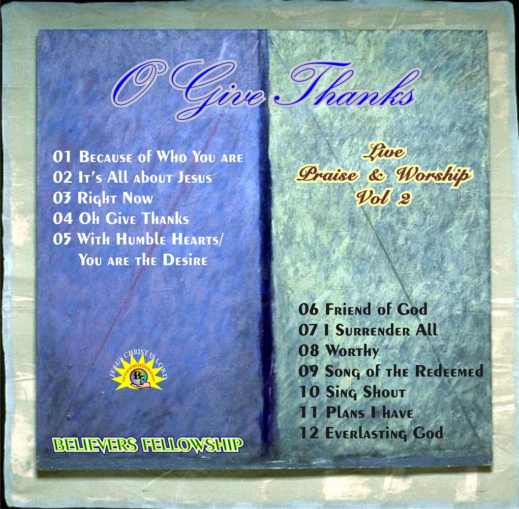 VOL. 2 O GIVE THANKS resized