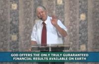 God offers the only truly guaranteed financial results on earth-Pt 2