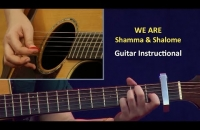 Guitar Instructional || WE ARE | Shamma & Shalome