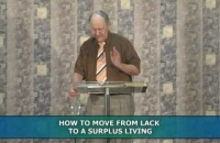 How to move from lack to a surplus living (2 of 7)