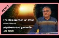Part 3 - The Resurrection of Jesus යේසුස්වහන්සේගේ උත්ථානවීම - Manu Mahtani